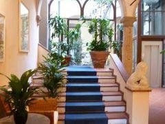 春の優雅なイタリア中部・サンマリノ巡り旅♪ Vol100(第9日目昼) ☆サンジミニャーノ:チステルナ広場に面した趣きのあるホテル「Hotel Leon Bianco」♪