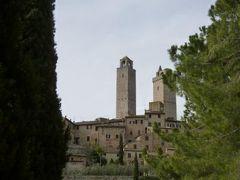 春の優雅なイタリア中部・サンマリノ巡り旅♪ Vol109(第10日目午前) ☆サンジミニャーノ:S.Iacopo教会と城門からFonti城門へ周囲の美しい自然を眺めながら歩いて♪