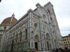 春の優雅なイタリア中部・サンマリノ巡り旅♪ Vol112(第10日目昼) ☆フィレンツェ:優雅な街歩き♪ドゥオーモやサンタ・マリア・ノヴェッラ教会などを眺めて♪