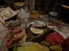 春の優雅なイタリア中部・サンマリノ巡り旅♪ Vol116(第10日目夜) ☆フィレンツェ:シーフードの美味しいレストラン「Filipepe」で絶品の新鮮なナマ!の魚介を頂く♪