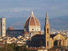 春の優雅なイタリア中部・サンマリノ巡り旅♪ Vol123(第12日目朝) ☆フィレンツェ:晴れ渡った朝の美しいフィレンツェを眺めて別れを告げる♪
