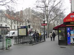 パリ 1日目:パリへ、2日目:モンパルナス