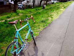 春の多摩川ポタリング