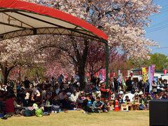 天平の花まつり 花に花を添える 中学生の素晴らしい吹奏楽 下野国分寺周辺にて