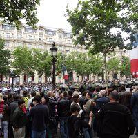 パリ祭のパレードと世界遺産モン・サン・ミシェル (パリ祭編)