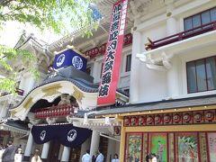 四月歌舞伎と浅草