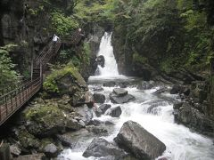 2011年BD旅行 巌立峡でパワーチャージ