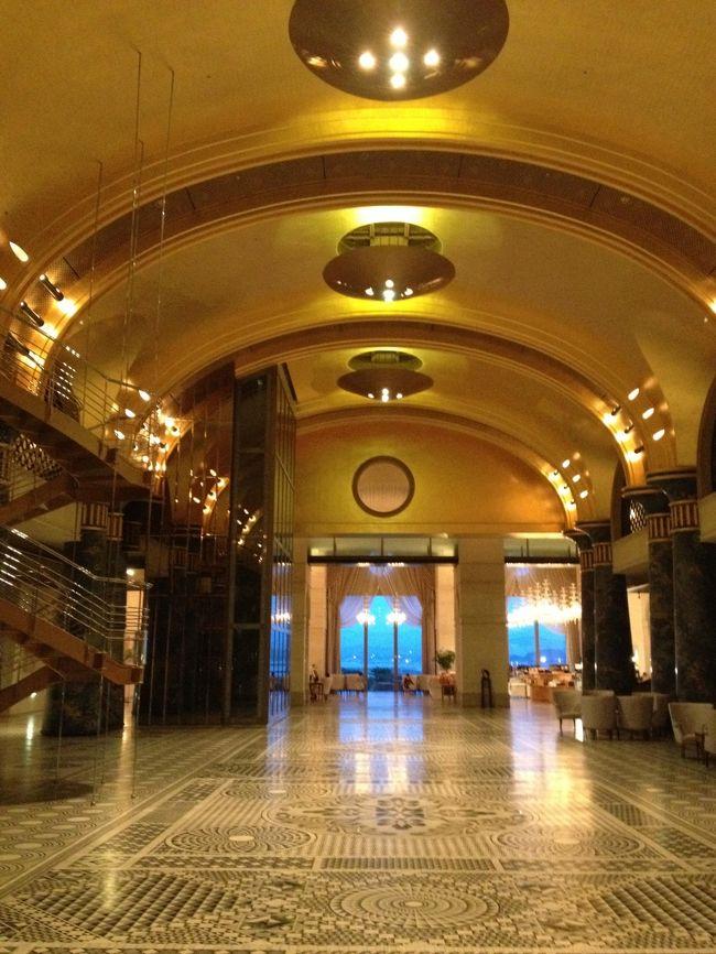 日ごろの疲れを癒すのは...美味しいもの&温泉♪<br />バブルな雰囲気のホテルでまったりし、美味しいもの食べてエネルギーチャージ☆<br />