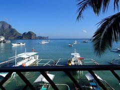 フィリピン(2)エルニド村①渚のバルコニー