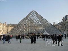 パリ1泊2日(2-1):ルーブル美術館の日曜日