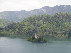 (No.4a)ノバゴリツァからボーヒン鉄道でブレット湖へ移動し湖畔をぐるっと@2013年GWは中欧4ヶ国&おまけ2ヶ国で通過も入れると計12ヶ国10日間の旅