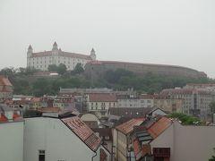 (No.6)ウィーンからブラティスラバへ移動し町を歩いて夜行列車でクラクフへ@2013年GWは中欧4ヶ国&おまけ2ヶ国で通過も入れると計12ヶ国10日間の旅
