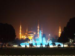 《年末年始の旅 2012-2013 バルセロナ&イスタンブール》1月3日〈19〉 アクシデントの末 やっとイスタンブール。夜。セブンヒルズホテル泊。
