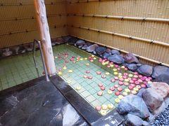 <青森・津軽&西海岸の旅.1>モニター旅行 初日はりんごが浮かぶツルツル温泉で・・・