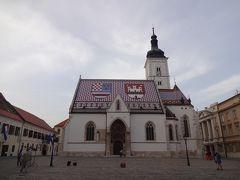 (No.5b)ザグレブの町をプチ観光して夜行バスでウィーンへ@2013年GWは中欧4ヶ国&おまけ2ヶ国で通過も入れると計12ヶ国10日間の旅