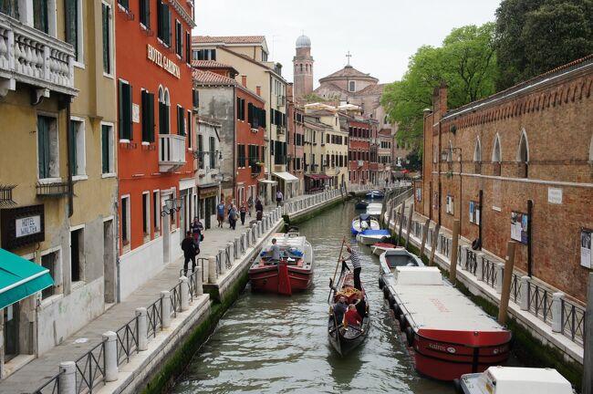 【イタリア】7日目 海の幸を求めてベネチアへ
