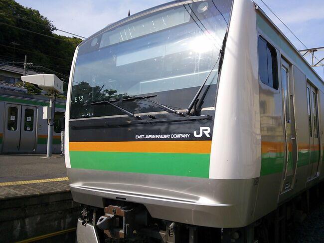 東海道線を走る旅客列車が、サンライズ号を除いて短・中距離列車のみになってしまった今。<br />それをあえて湘南電車と区別して呼ぶ必要はありません。<br /><br />でも、大磯に行くとなると湘南電車で、と言いたくなります。<br /><br />都心から約1時間、気持ちいい風の吹く、海辺の町にハイキングに出かけてみました。