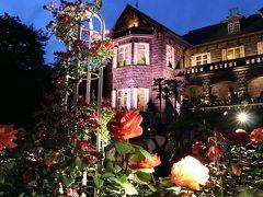 旧古河庭園 春のバラフェスティバルとライトアップ