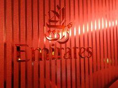 Emirates エミレーツ航空  EK0382 A380-800 ファーストクラス ドバイ発 → 香港行