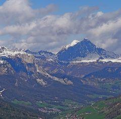 2013.5ドロミテアルプス周辺920Kmドライブ旅行8-Valparola峠,戦争博物館,CassianoをUターン