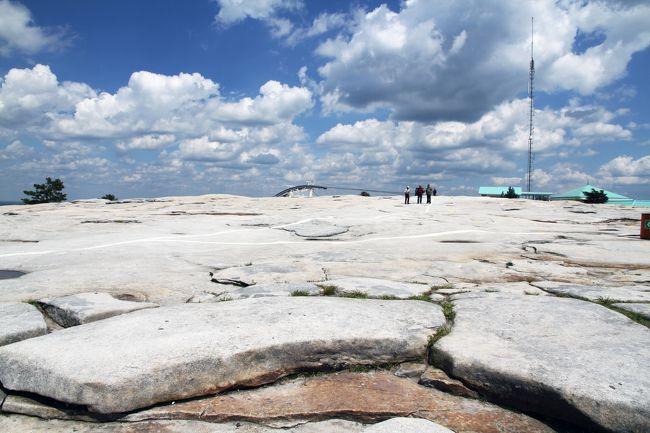 『2013年5月 アメリカ出張 シカゴ~アトランタ~ワシントンdc~ロサンゼルス 2 アトランタ 世界最大の花崗岩