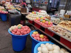仁川の市場歩き