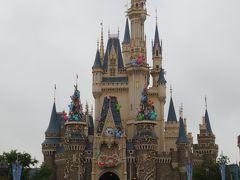 東京ディズニーランド 2013年 4月 ・ 雨