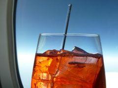 初夏の優雅なバカンス ナポリのイスキア島♪ Vol1(第1日目午前~夜) ☆成田~ナポリ:成田から全日空×ルフトハンザ航空ビジネスクラスでナポリへ♪