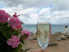 初夏の優雅なバカンス ナポリのイスキア島♪ Vol8(第2日目夜) ☆イスキア島サンタンジェロ:「Hotel Miramare Sea Resort」のレストランで優雅なディナー♪