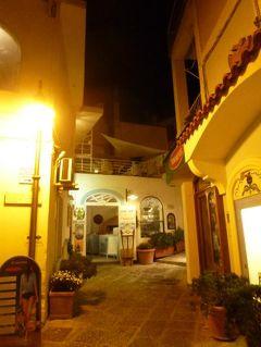 初夏の優雅なバカンス ナポリのイスキア島♪ Vol20(第3日目夜) ☆イスキア島サンタンジェロ:夜景の美しいサンタンジェロを優雅に歩く♪
