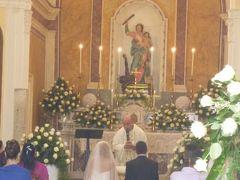 初夏の優雅なバカンス ナポリのイスキア島♪ Vol26(第4日目昼) ☆イスキア島フォリオ:「Santa Maria Soccorso」の教会と周囲の絶景♪それが結婚式場!