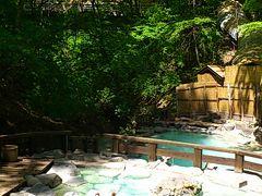 新緑の蔵王温泉