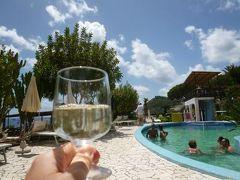 初夏の優雅なバカンス ナポリのイスキア島♪ Vol30(第5日目午前) ☆イスキア島サンタンジェロ:「Hotel Miramare Sea Resort」の朝食と温泉公園「Giardini Termali」で優雅に過ごす♪