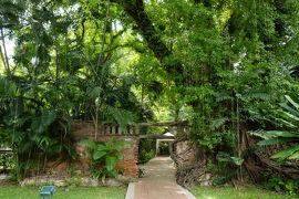 トンブリー(1):王母陛下記念公園とター・ディンデン路地裏の静寂 * バンコク紀行(118) *