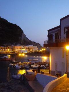 初夏の優雅なバカンス ナポリのイスキア島♪ Vol46(第7日目夜) ☆イスキア島サンタンジェロ:最後のディナーは「Hotel Miramare Sea Resort」のテラスで絶景を見ながら♪