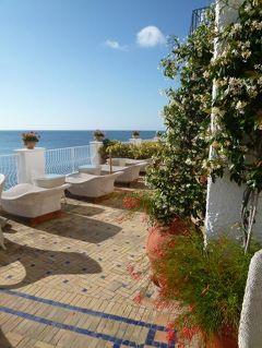 初夏の優雅なバカンス ナポリのイスキア島♪ Vol47(第8日目朝) ☆イスキア島サンタンジェロ:「Hotel Miramare Sea Resort」のテラスで最後の素晴らしい朝食♪