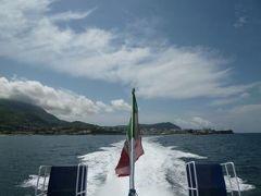 初夏の優雅なバカンス ナポリのイスキア島♪ Vol50(第8日目昼) ☆イスキア島から高速船でナポリへ♪船上から素晴らしい景色を眺めて♪