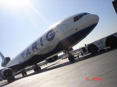 まだVARIGが飛んでた頃の米国西海岸&メキシコ国境