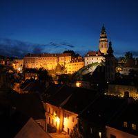 40才男一人旅(チェコ・オーストリア・イタリア) ~ ③チェスキークルムロフ(中世の街とビールに満足)