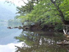 夕方の湯ノ湖一周散歩