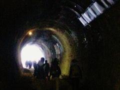 安中Walk-4 トンネルを連続して通過、熊ノ平駅跡が終点 ☆アプトの道=後半