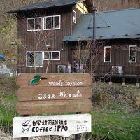 森の中に見つけた素敵なカフェ