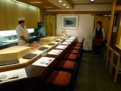 05.寿司とラーメンの札幌3泊 3食目 積丹料理 ふじ鮨の夕食