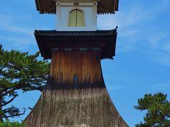 琴平-1 うどん昼食後は散策、駅付近と参道の情景 ☆鳴門から讃岐へ