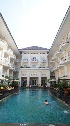 PARIWISATA JOGJA(7)ジョグジャカルタで由緒あるコロニアルスタイルのフェニックスホテルの滞在を楽しむ。