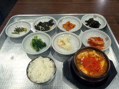 14.GW開けの釜山2泊旅行 6食目 ウォンジョトゥッペギチプの朝食