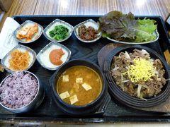 15.GW開けの釜山2泊旅行 釜山金海国際空港 7食目 プンギョンマルの昼食