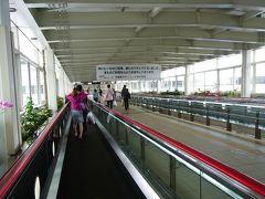 那覇空港駅から空港ターミナルへ