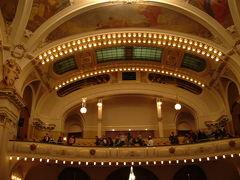 2005年大晦日~2006年お正月 雪のプラハ  一日の最後は スメタナ・ホールのコンサート