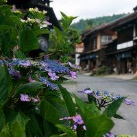梅雨時の中山道三宿を歩く
